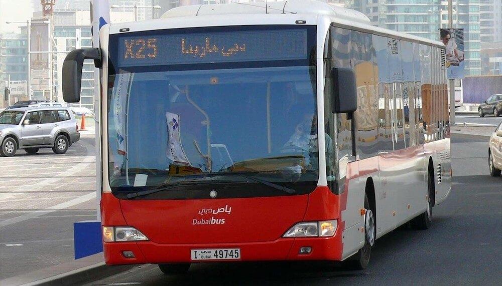 Dubai Bus Flughafen