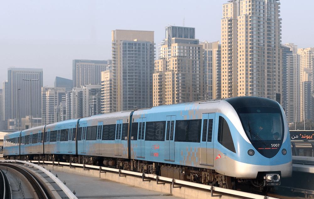 Dubai Metro Flughafen Anbindung