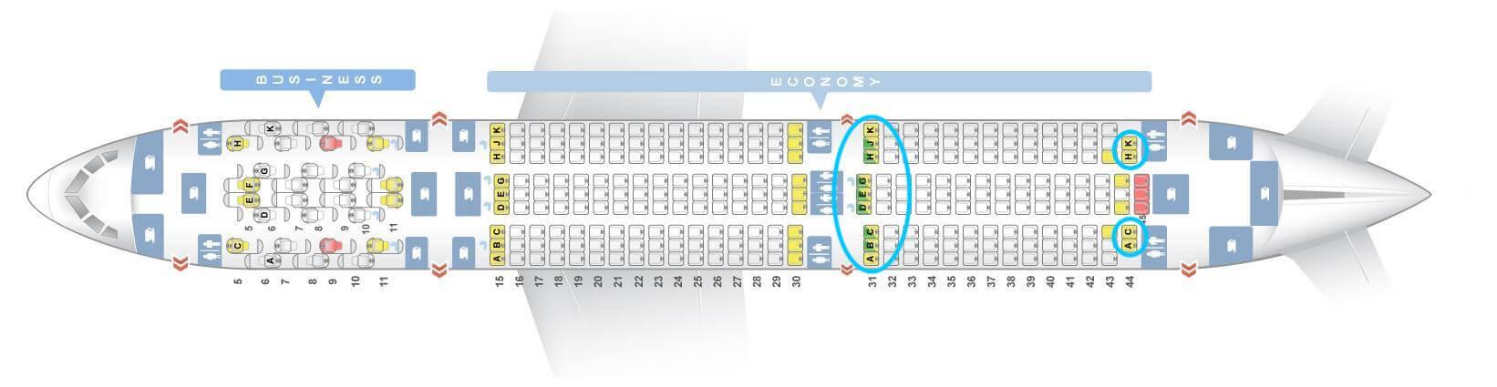 Etihad Airways Boeing 787-900 Layout 2