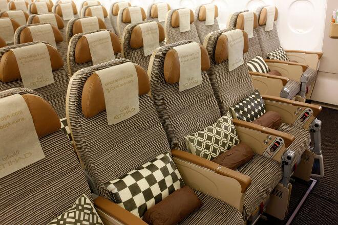 Etihad Economy Space Sitze