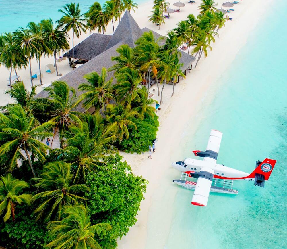 Inlandsflüge Malediven mit Wasserflugzeug