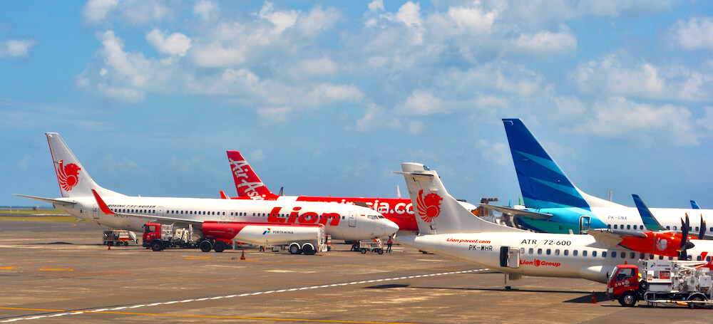 Lion Air Boeing 737 Bali Airport
