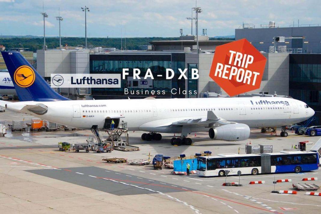 Lufthansa Business Class Airbus A330 FRA-DXB TripReport Airguru
