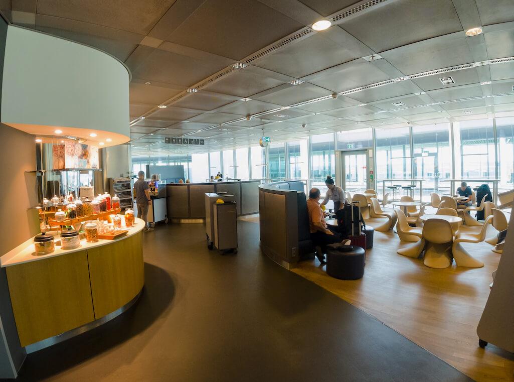 Lufthansa Business Class Lounge (B-Ost) Frankfurt - Test & Erfahrungen