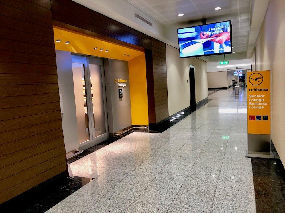 Lufthansa Business Class Lounge Dubai Airport