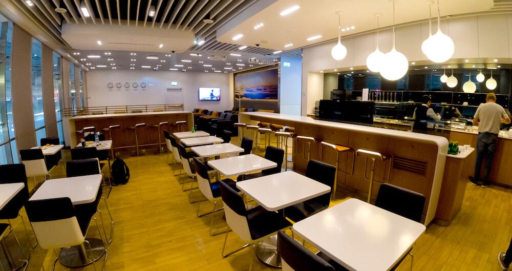 Lufthansa Lounge Dubai Sitzbereich
