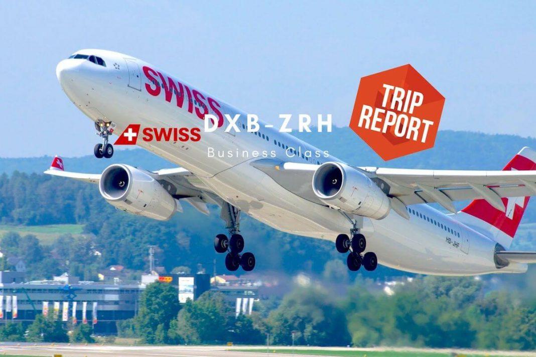 Swiss Business Class Airbus A330 Dubai nach Zürich TripReport Airguru