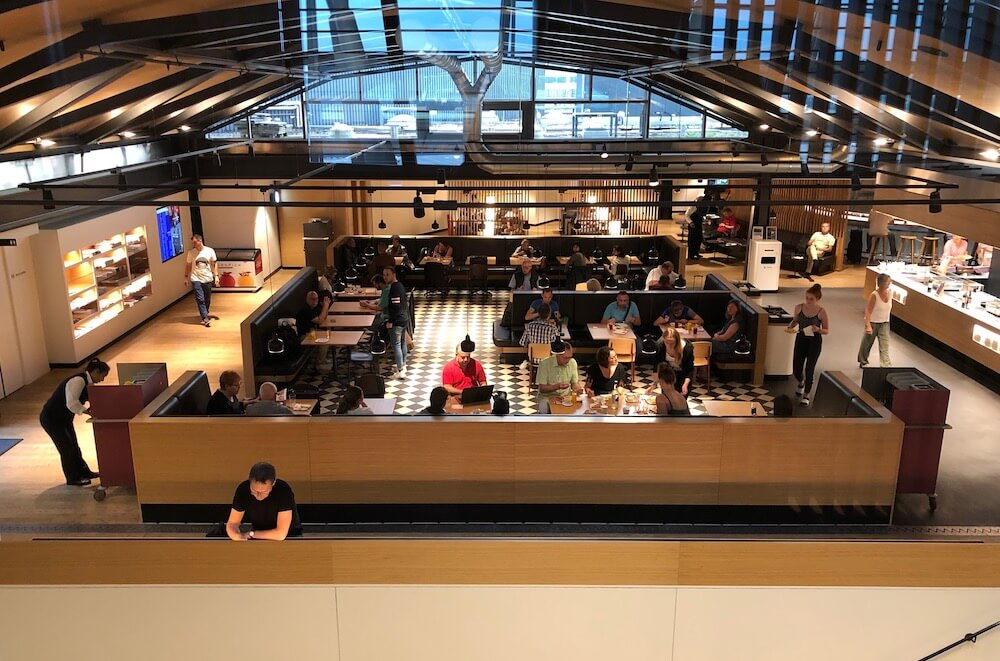 Swiss Business Lounge Zürich Terminal A Restaurantbereich