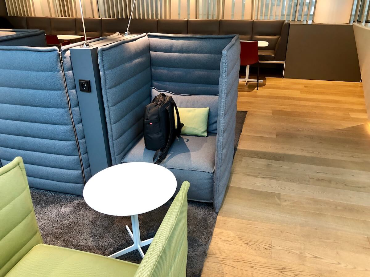 Airport Lounge Europa Sessel