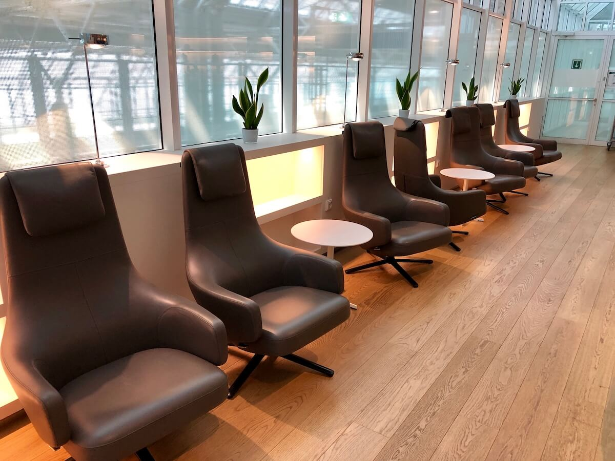 Airport Lounge Europa Sitzbereich