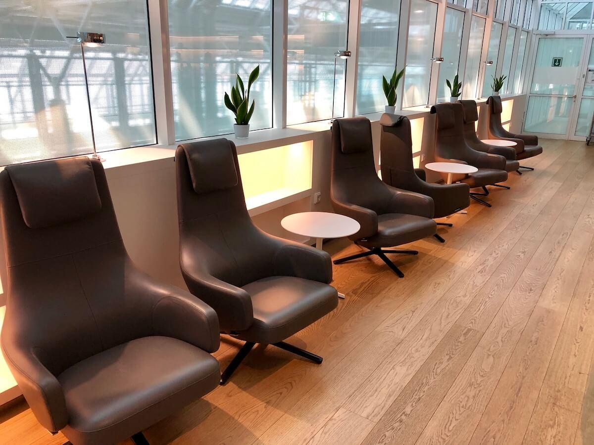 Airport Lounge Europa Sitzbereich
