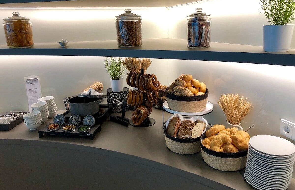 Airport Lounge Europa Speisen