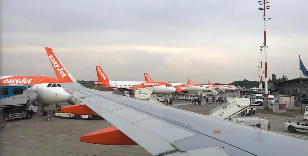 EasyJet Flotte Berlin Tegel Airbus A320