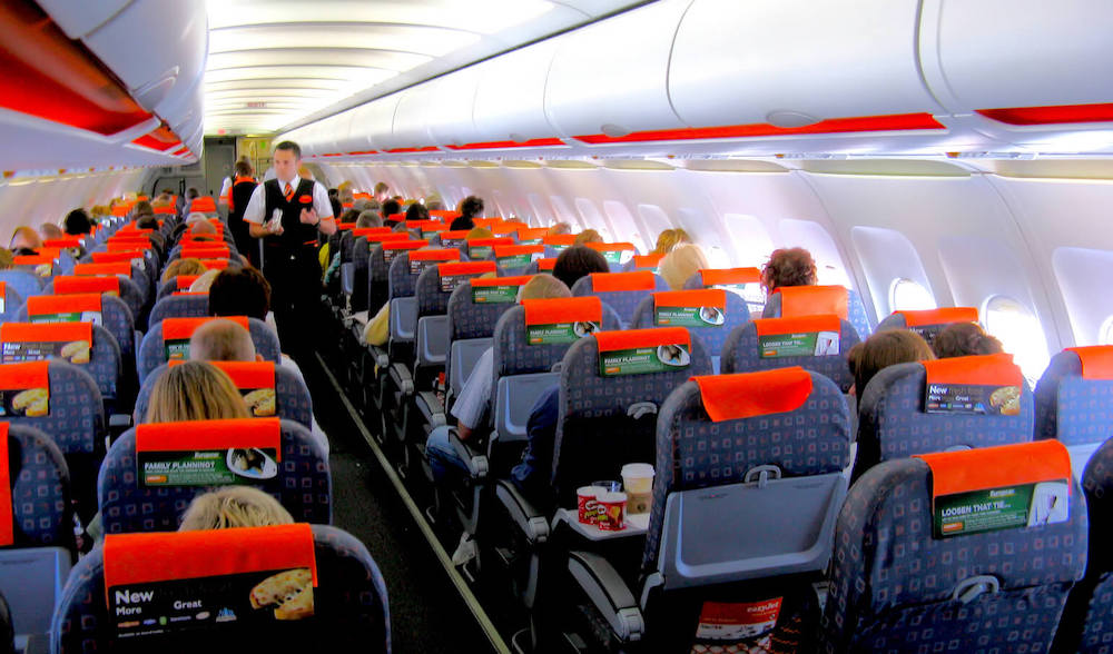 EasyJet Kabine Airbus A319