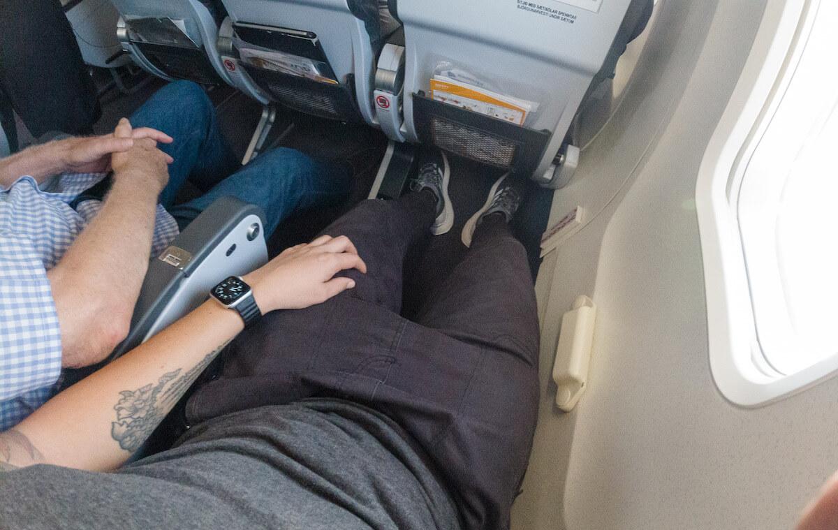 Icelandair Boeing 757 mehr Beinfreiheit Sitz