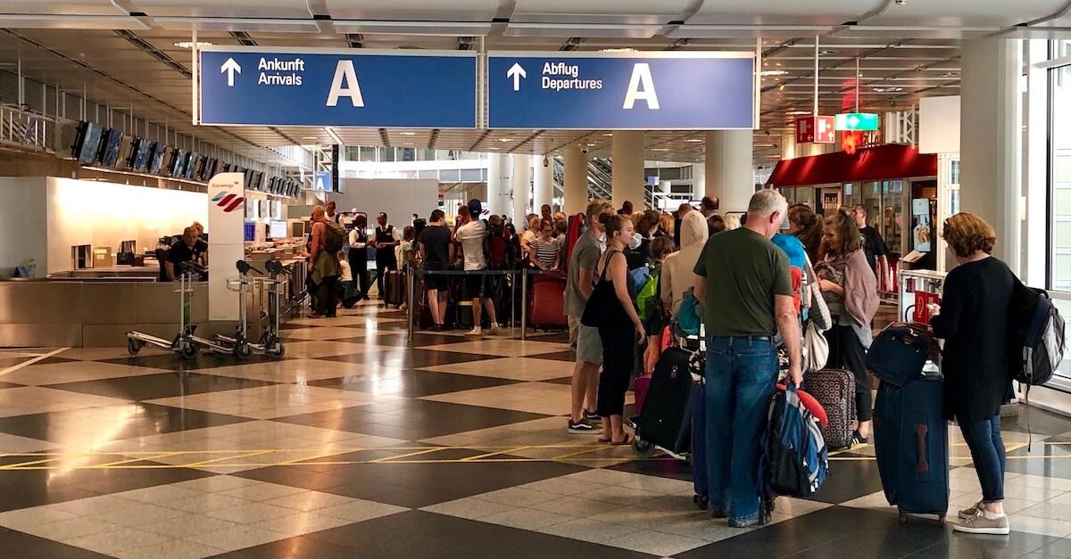 Icelandair Check-In München Flughafen