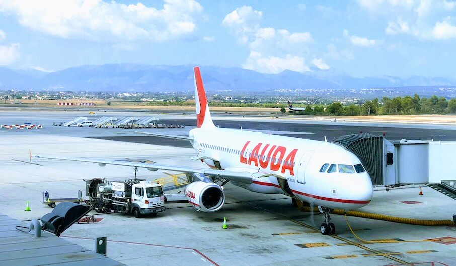 Lauda Motion Flughafen Palma
