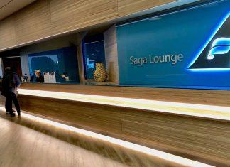Saga Lounge Keflavik Flughafen Test