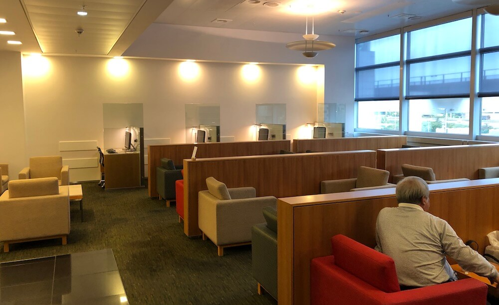 Cathay Pacific Lounge Frankfurt Bereiche
