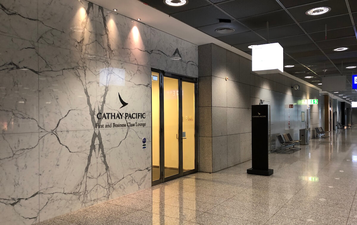Cathay Pacific Lounge Frankfurt Terminal 2