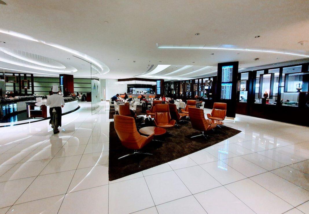 Etihad Business Class Lounge Abu Dhabi Terminal 3 Test & Erfahrungen