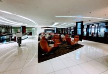 Etihad Business Class Lounge Abu Dhabi Terminal 3 Test & Erfahrungen
