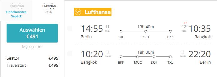 TXL-ZRH-BKK-Lufthansa-Februar-491€