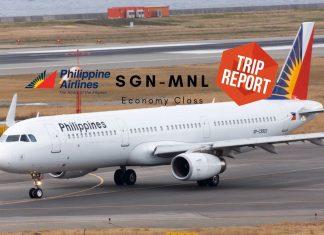 Philippine Airlines Economy Class A321 - TripReport Airguru