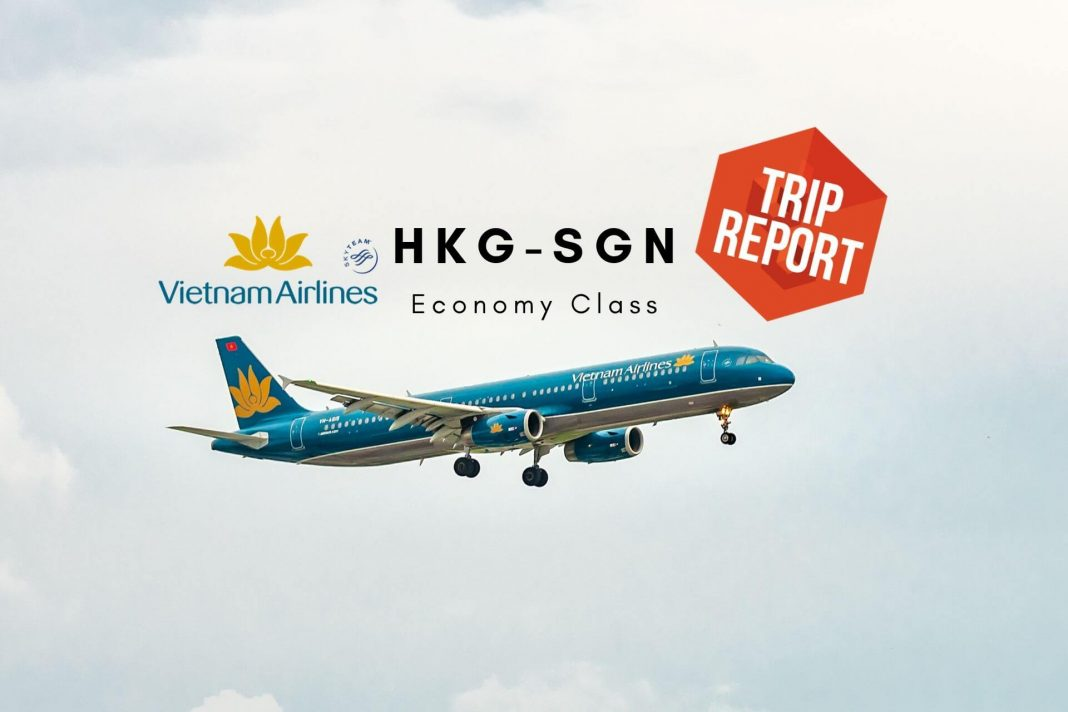 Vietnam Airlines Economy Class A321 Hong Kong - Saigon -TripReport Airguru