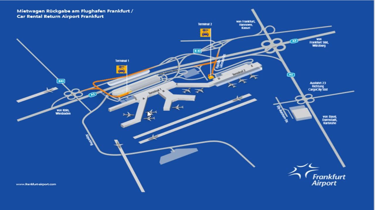 Mietwagen Am Flughafen Frankfurt Abholung Ruckgabe Airguru De