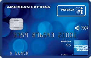 Payback-AMEX-Kreditkarte