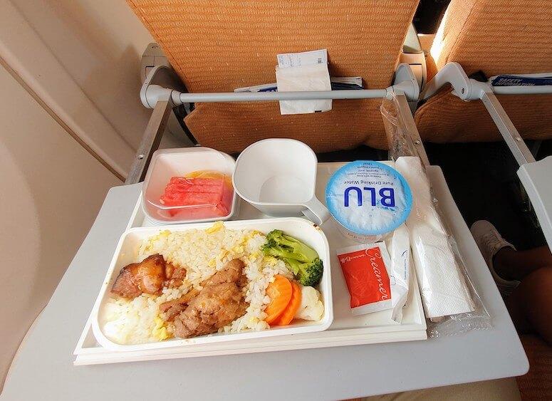 SilkAir Boeing 737-800 Economy Class Essen