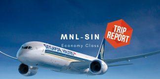 Singapore Airlines Economy Class Boeing 787-10 Tripreport