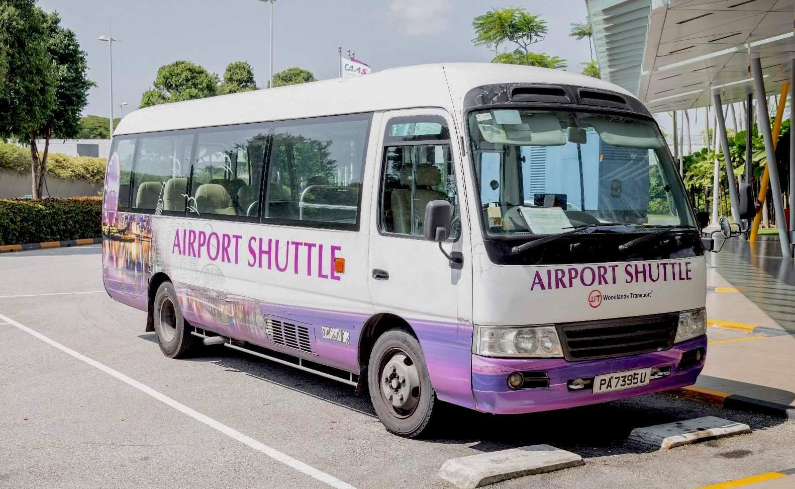 Singapur Airport Shuttle Bus