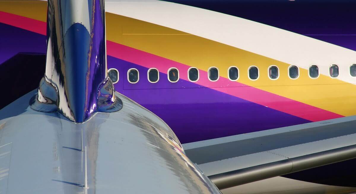 Thai Airways Farben
