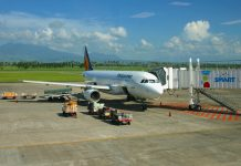 Philippine Airlines Economy Class Airbus A320 Clark - Boracay