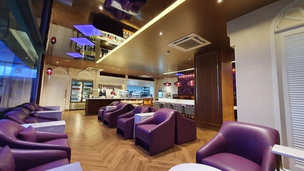 Die Neue Thai Airways Royal Orchid Lounge Phuket Domestic