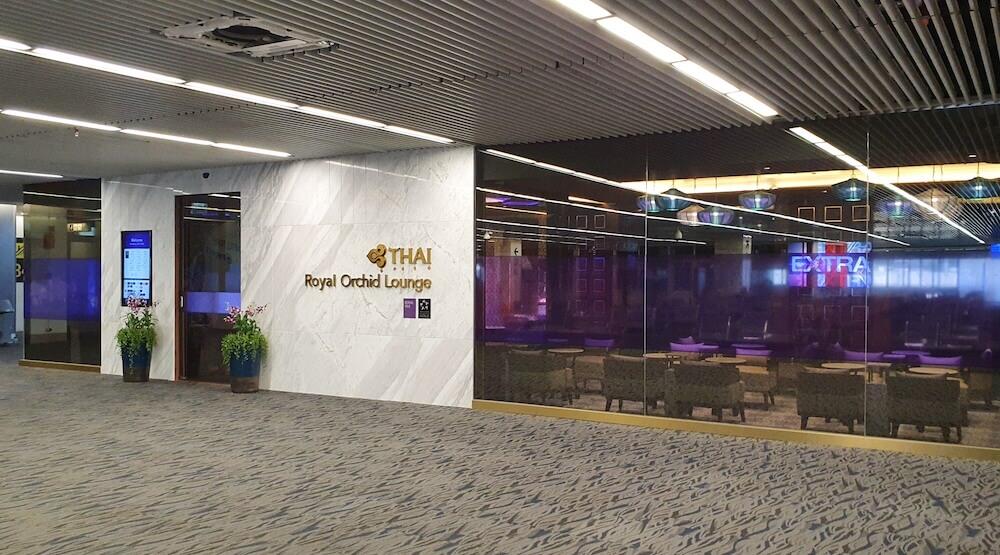 Thai Airways Royal Orchid Lounge Phuket Domestic Eingang